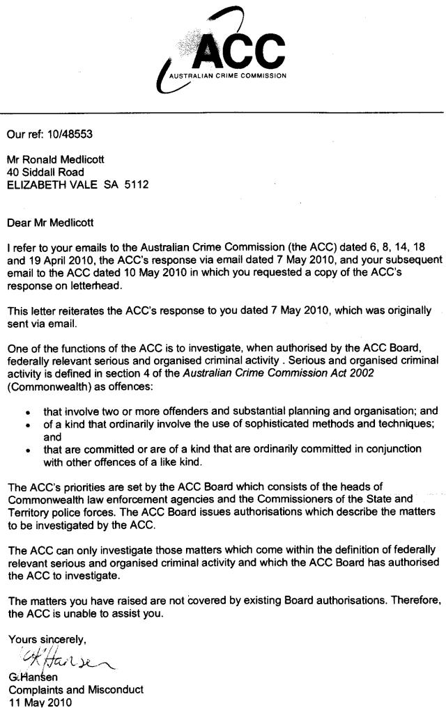 11-05-10 ACC refusal